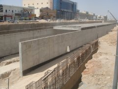 Saudi Riyadh King Aboullan Road Project